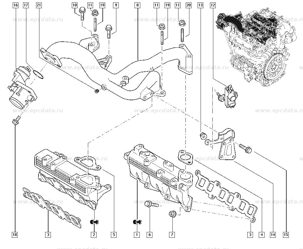 Renault espace 4 схемы